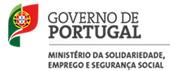 Logo Ministério da Solidariedade, Emprego e Segurança Social